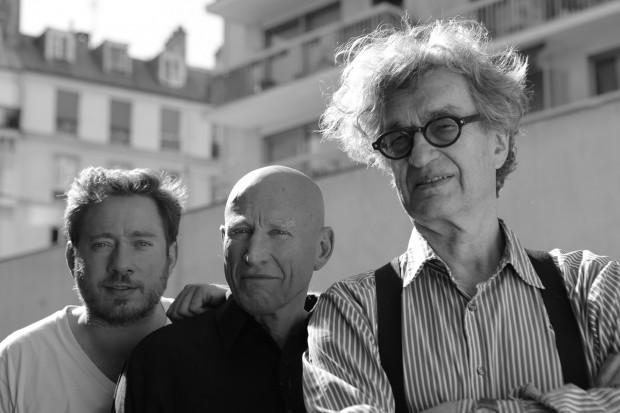 Juliano Ribeiro Salgado, Sebastião Salgado e Wim Wenders. Créditos: Divulgação