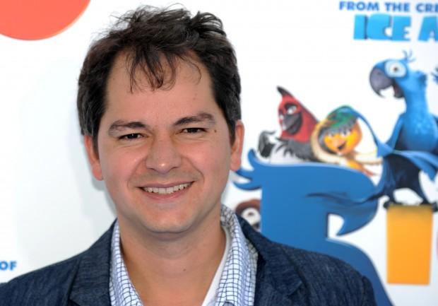 """O diretor brasileiro Carlos Saldanha na pré-estreia de """"Rio"""", em Los Angeles, em 2011. Créditos: AFP"""