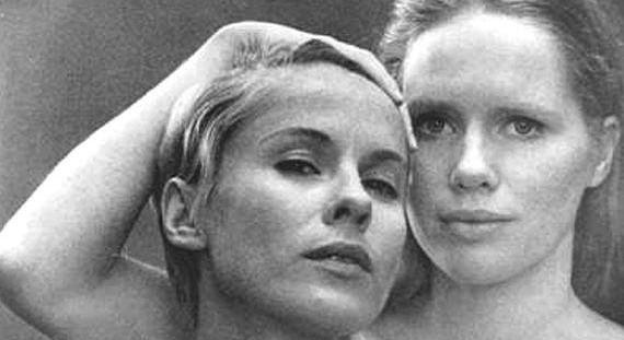 """As atrizes Bibi Andersson e Liv Ullmann em cena do filme """"Persona"""" (1966), de Ingmar Bergman. (Foto: Divulgação)"""